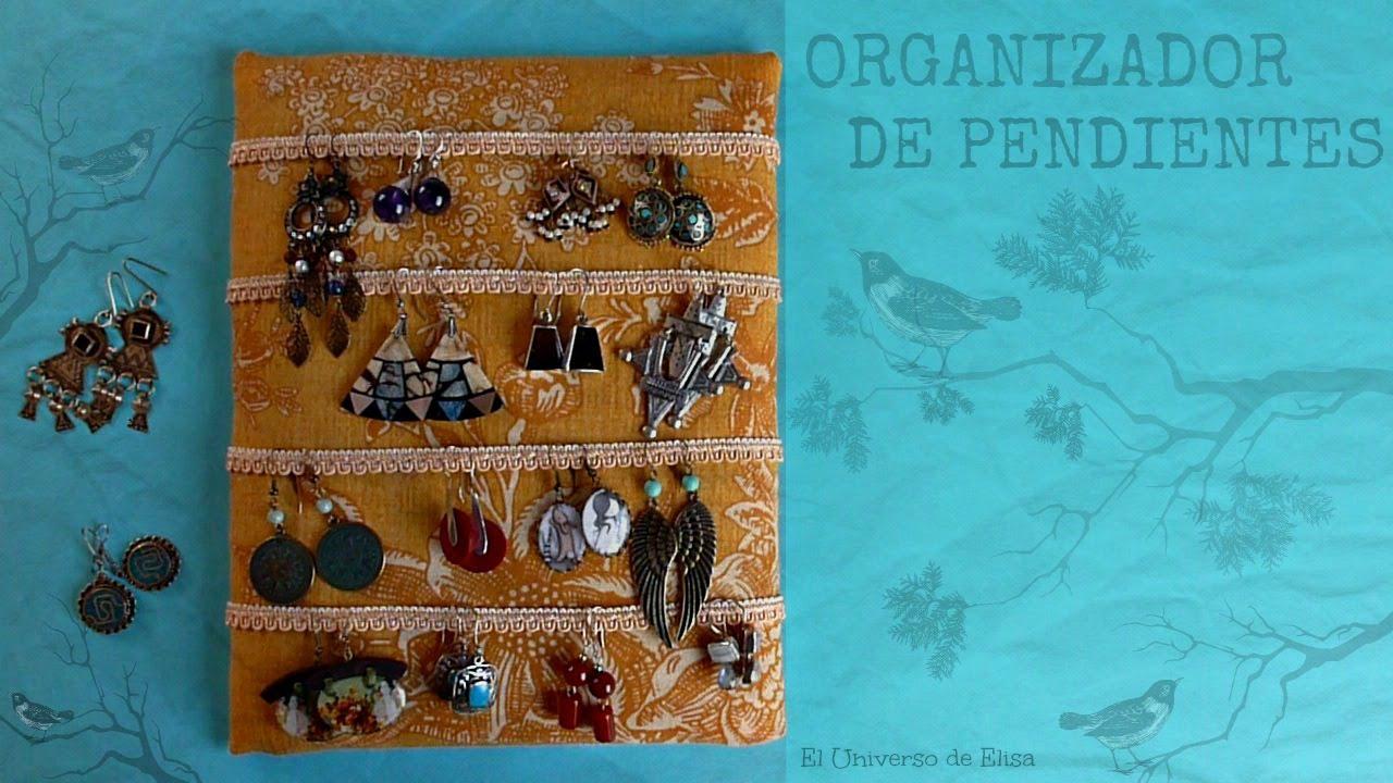 Ideas para Organizar, Cómo hacer un Organizador de Pendientes o Aretes, Manualidades Fáciles