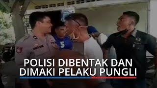 VIDEO VIRAL: Anggota Polisi Dibentak, Dimaki, dan Diintimidasi Pelaku Pungli