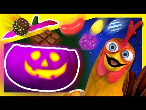 Calabazas Sorpresa de Halloween | Dulces de Colores en La Granja de Zenón | A Jugar