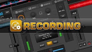 VirtualDJ 8 now has the capability to record audio and video mixes natively in the software. In this video we have a look at basic recording in VirtualDJ 8, ...