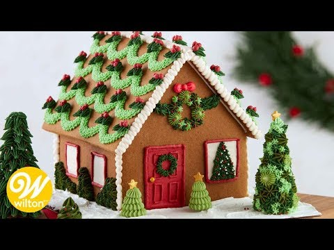 Easy Gingerbread House Decorating Techniques | Wilton Mp3