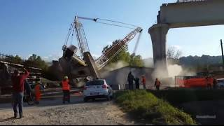 Epic Crane Fail and Collapsing Compilation