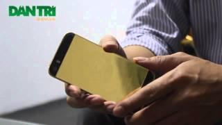 Sự thực về trào lưu độ vàng ròng nguyên khối cho điện thoại