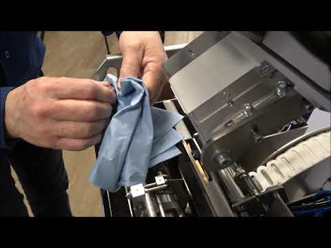 Elastobinder: Rengöring av maskinen