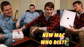 HELP ME NAME MY NEW MACBOOK PRO! Unboxing my new mac!