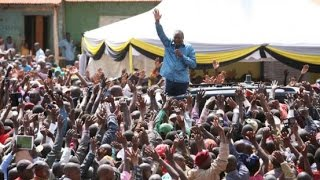 President Uhuru Kenyatta blames Raila for 2007 post-elections violence