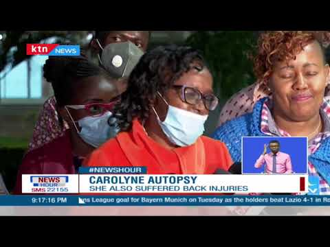 Autopsy shows Caroline Wanjiku Maina, died of head injuries inflicted with a blunt object