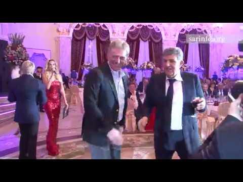 Песков и Жириновский на юбилее Ара Абрамяна. Полная версия