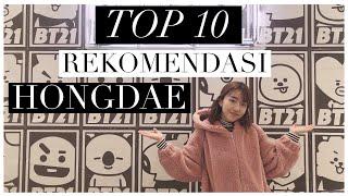 TOP 10 HONGDAE   HARUS KESINI!! ADA BT21!!! 😍❤️