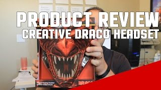 Creative Draco HS880 Gaming Headset Review - Good Under $50?