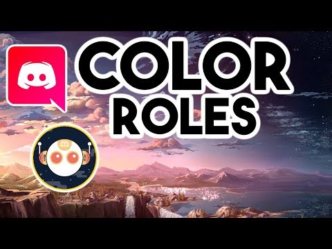 EASY* HOW TO GET COLOR CHANGING ROLE ON DISCORD! (updated links