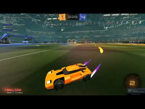 Freestyling to GC #2 (Facing a pro!) | Rocket League 1v1s