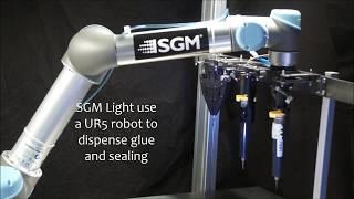 Kelvin Tool Changer at SGM Light