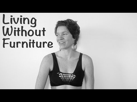 NO FURNITURE!? || Choosing MINIMALIST LIVING Without Chairs, Tables, Desks, Etc. Mp3