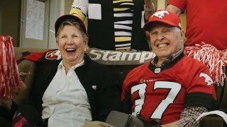 TELUS | #AllConnected for Calvin – Calgary Stampeders