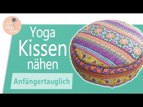 Yogakissen / Sitzkissen nähen für Anfänger - ohne Schnittmuster