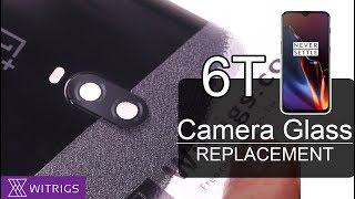 OnePlus 6T Camera Glass Replacement