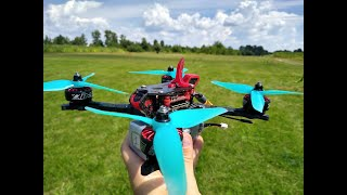 First training with my new frame | DewGTF | FPV DRONE RACING