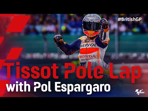 ポル・エスパロガロのPPオンボード映像 MotoGP 2021 第12戦イギリス