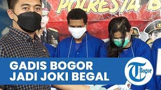 Gadis Muda di Bogor Jadi Joki Begal, Bawa Kabur Motor seusai Sabet Korban Pakai Celurit