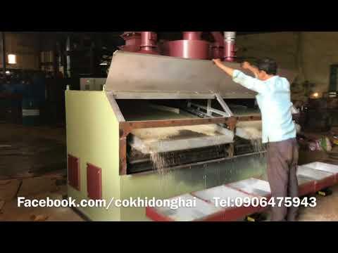 Máy sàng tách đá sạn gạo Đông Hải 10 tấn/h