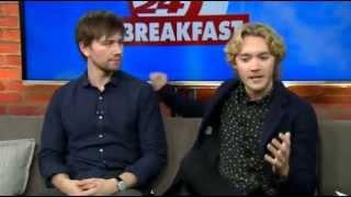 Toby et Torrance pour CP24 Breakfast
