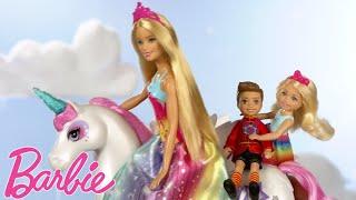 Jednorożec w chmurach  ????Lalki Barbie ????Barbie Dreamtopia ????Barbie Polska ????Bajki Barbie