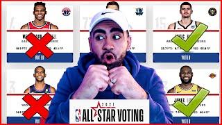 MES VOTES POUR LE NBA ALL STAR GAME 2021 ! (Titulaires & Remplaçants)