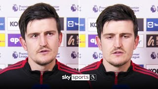 """""""Apologies to the fans""""   Maguire speaks after shambolic Man Utd loss"""