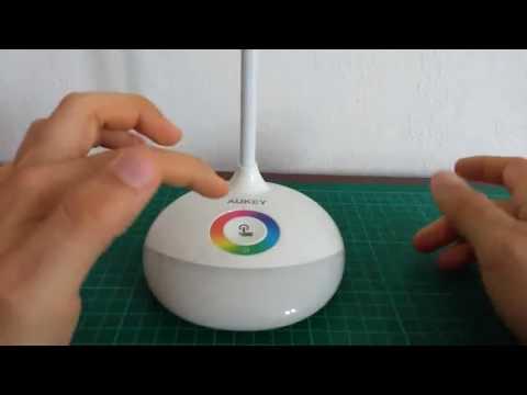 AUKEY   Lampada da Scrivania Ricaricabile, Lampada con batteria molto adatta ai bambini