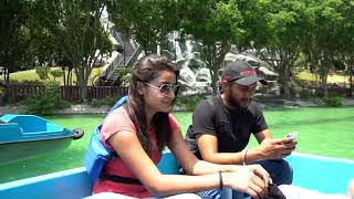 Couples Boating at Wonderland Jalandhar Boat House