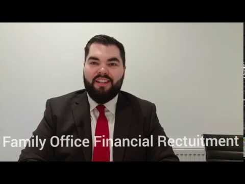 Family Office, Financial Recruitment