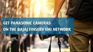 Avail offers on Panasonic Camera with Bajaj Finserv EMI Card
