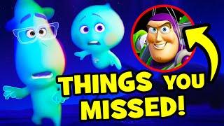 67 Easter Eggs You Missed In Pixar's SOUL!