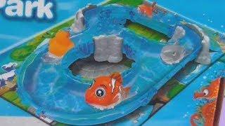 Игровой океанариум Ocean Track Park Распаковка и обзор игрушек