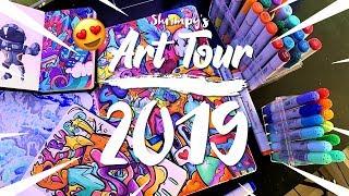 My DOODLE ART SETUP For 2019 !! **Epic**