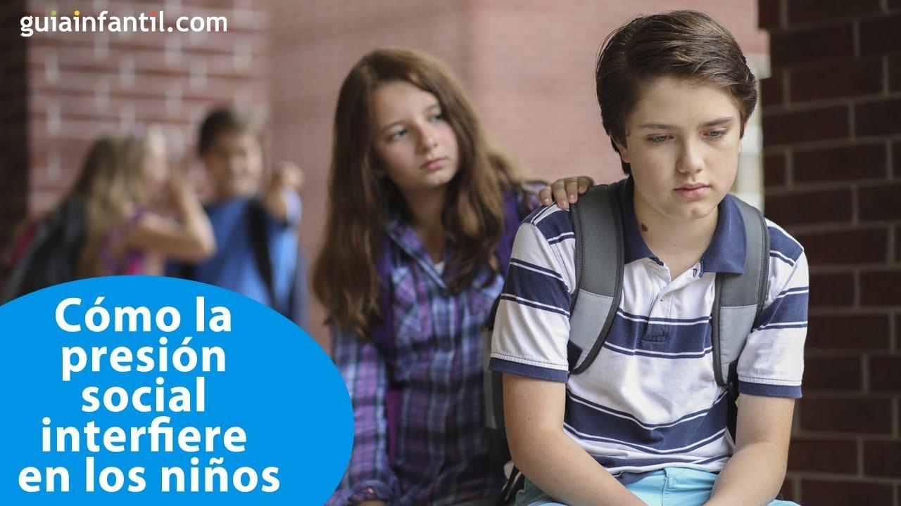 Cómo la presión social interfiere en los niños | #ConectaConTuHijo