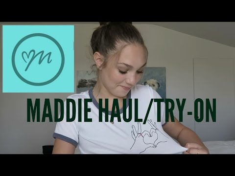 MADDIE clothing haul / try-on !!