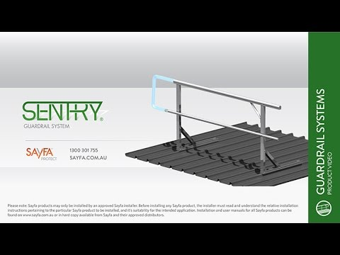 The Sentry Guardrail System from Sayfa Group