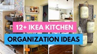 12 IKEA Kitchen Ideas - Organize Your Kitchen With IKEA Hacks