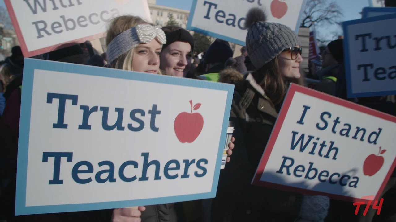 teachers unions vs students youtube
