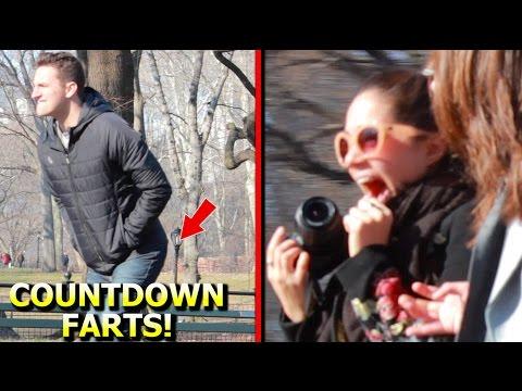 Timing Farts in Public Prank