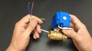 Шаровый кран с электроприводом CWX CR03