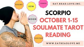 "SCORPIO SOULMATE "" ARE YOU READY TO BE LUCKY IN LOVE? THE GATE "" OCTOBER BIWEEKLY TAROT READING"