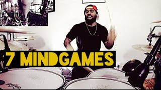 """Kaz Rodriguez - """"7 Mindgames"""" Drum Cover - J-rod Sullivan"""
