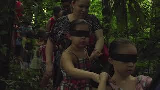 Trilha cega oferece experiência sensorial no Jardim Botânico