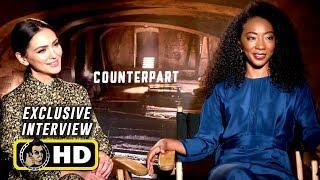 Nazanin Boniadi & Betty Gabriel Exclusive Interview for COUNTERPART