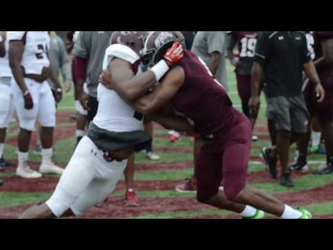 Coahoma Football First Day Practice 2017