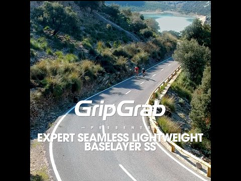 Gripgrab Expert Seamless svedundertrøje med korte ærmer grå video