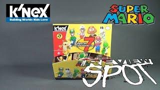 Collectible Spot - K'nex Super Mario Blind Bag Figures Series 7 CASE UNBOXING!